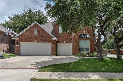 Round Rock Single Family Home For Sale: 2613 Crestfield Pl