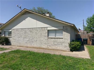 Hutto Multi Family Home For Sale: 102 E Austin Ave
