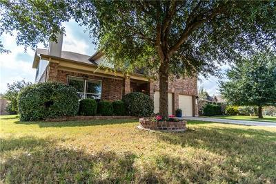 Leander Single Family Home For Sale: 508 Glen Valley Ln