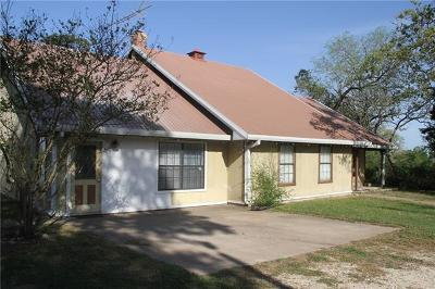 Giddings Single Family Home For Sale: 1214 County Road 101