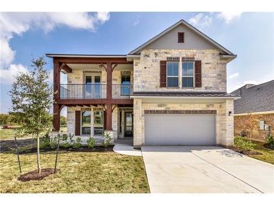 Round Rock Single Family Home For Sale: 833 Centerra Hills Cir