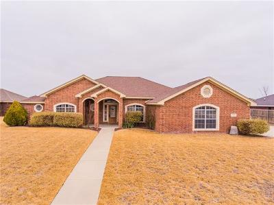Killeen Single Family Home For Sale: 2106 Whippoorwill Rd