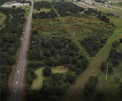 Bastrop Residential Lots & Land For Sale: Hwy 95 Frontage