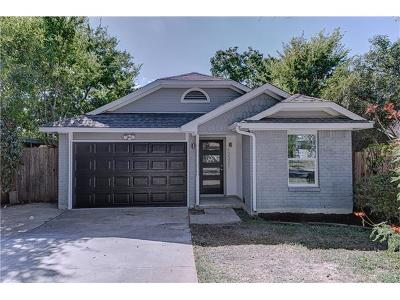 Austin Single Family Home For Sale: 12321 Emery Oaks Rd