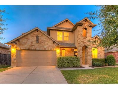 Round Rock Single Family Home Pending - Taking Backups: 1620 Westmeadow Trl