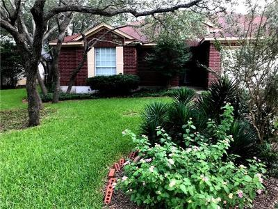 Cedar Park Single Family Home For Sale: 1208 Cedar Hills Blvd