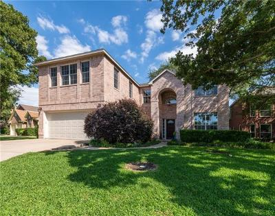 Round Rock Single Family Home For Sale: 2501 Partridge Ct