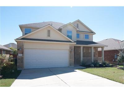 Cedar Park Single Family Home For Sale: 1912 Golden Arrow Ave