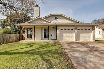 Austin Single Family Home For Sale: 11902 Snow Finch Rd