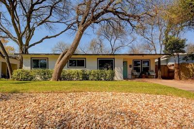 Travis County, Williamson County Single Family Home For Sale: 5004 Strass Dr