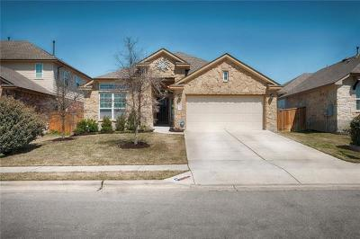 Round Rock Single Family Home For Sale: 2940 Angelina Dr