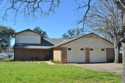 Burnet Single Family Home For Sale: 102 Lasso Loop