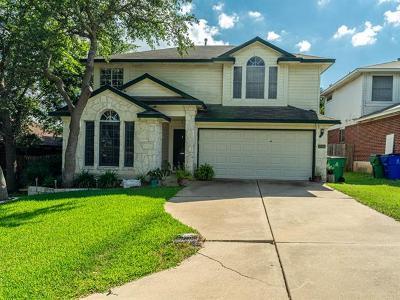 Cedar Park Single Family Home For Sale: 1205 Darless Dr