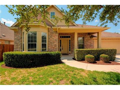Cedar Park Single Family Home For Sale: 3600 Turkey Path Bnd