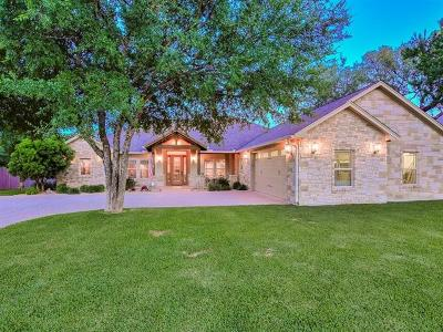 Burnet County Single Family Home For Sale: 311 Yellow Ribbon Trl
