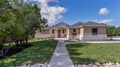 Lago Vista Single Family Home For Sale: 3101 Nobel Cir