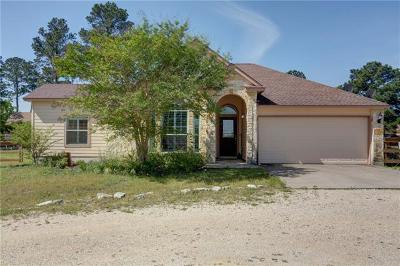 Paige Single Family Home For Sale: 122 Travis Ln