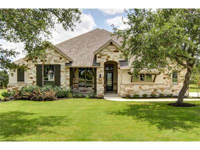 Leander Single Family Home For Sale: 3124 Vista Heights Dr
