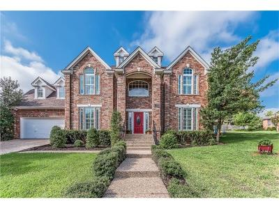 Travis County, Williamson County Single Family Home For Sale: 5905 Cedar Cliff Dr