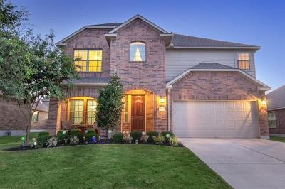 Pflugerville Single Family Home Pending - Taking Backups: 21004 Windmill Ranch Ave