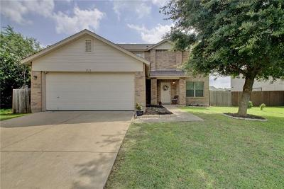 Round Rock Single Family Home For Sale: 1713 Amistad Way