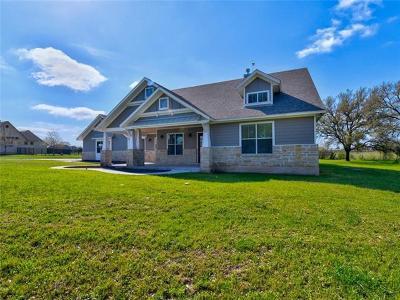 Burnet Single Family Home For Sale: 107 Wranglers Way