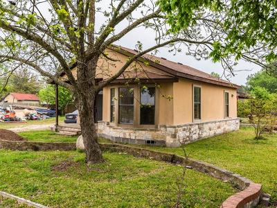 Kyle Single Family Home For Sale: 1203 Center St W Cisneros St