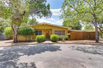 San Marcos Single Family Home Pending - Taking Backups: 619 N Bishop St