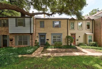 Austin Condo/Townhouse For Sale: 6607 Valleyside Rd