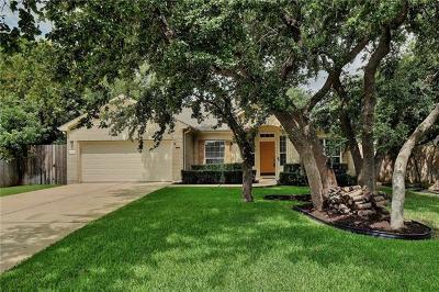 Cedar Park Single Family Home Pending - Taking Backups: 1603 Sharon Pl