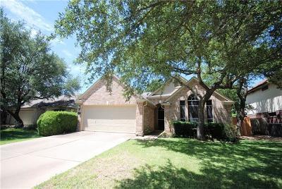 Cedar Park Single Family Home Pending - Taking Backups: 2603 Melba Pass