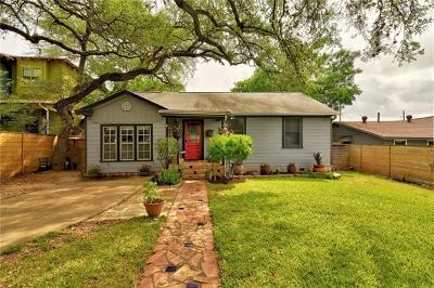 Austin TX Single Family Home Pending - Taking Backups: $640,000
