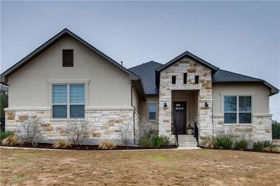 Dripping Springs TX Single Family Home Pending - Taking Backups: $525,000