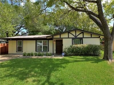Austin Single Family Home For Sale: 8003 Bon Air Dr