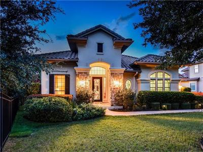 Austin Single Family Home Active Contingent: 1312 Hawks Canyon Cir