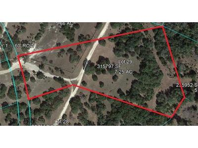 Dripping Springs Residential Lots & Land Pending - Taking Backups: Lot 29 Redemption Way