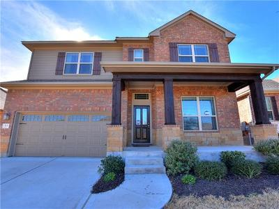 Leander Single Family Home For Sale: 513 Cerezo Dr