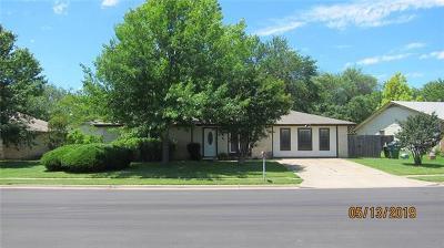 Round Rock Single Family Home Pending - Taking Backups: 1602 Provident Ln