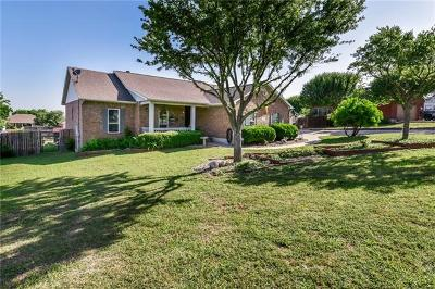 Hutto Single Family Home For Sale: 309 Rio Grande Ave