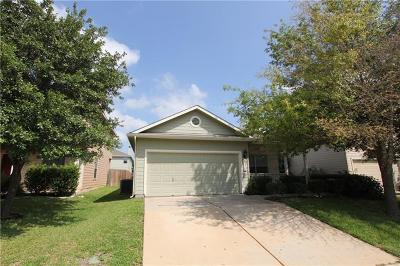 Single Family Home For Sale: 3912 Bronco Bend Loop