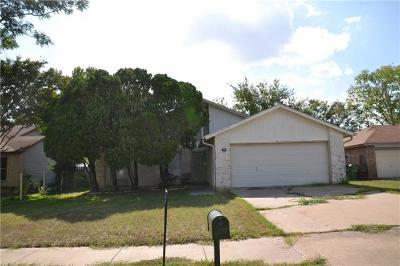 Round Rock Single Family Home For Sale: 1410 Bellmar Dr