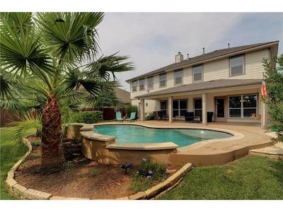 Cedar Park Single Family Home Pending - Taking Backups: 4602 Saint Marys Ln