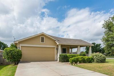 Round Rock Single Family Home For Sale: 2701 Amberglow Ct