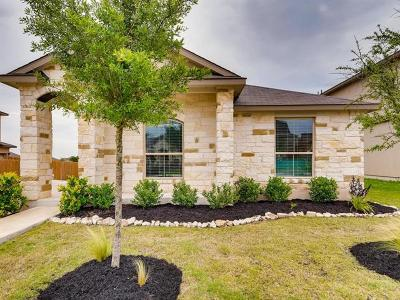 Leander Single Family Home For Sale: 1408 Bess Cv