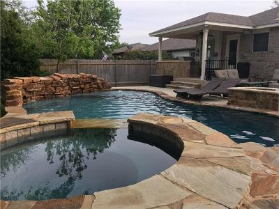 Round Rock Single Family Home Active Contingent: 3211 Arroyo Bluff Ln
