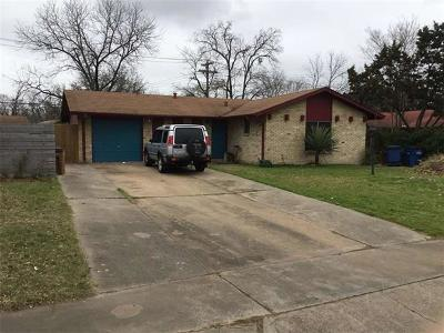 Travis County Single Family Home For Sale: 1803 Ohlen Rd