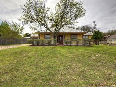 Georgetown Single Family Home For Sale: 6614 Jim Hogg Dr
