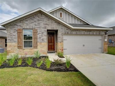 Round Rock Single Family Home For Sale: 2504 Hat Bender Loop