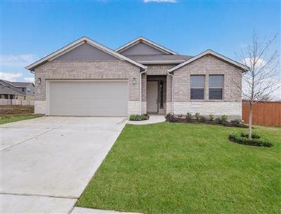 Hutto Single Family Home For Sale: 715 Hereford Loop