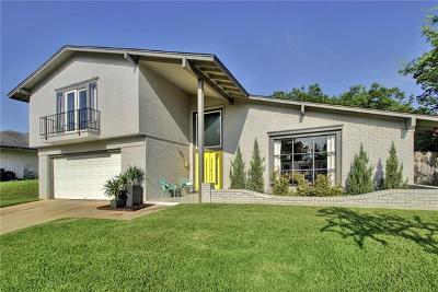 Austin Single Family Home Pending - Taking Backups: 7400 Sevilla Dr